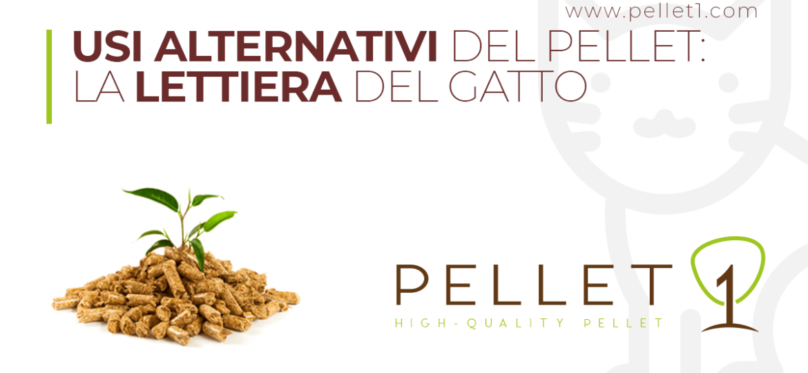 Usi alternativi del pellet - La lettiera del gatto
