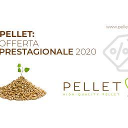 Pellet: offerta prestagionale 2020